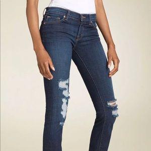 J Brand Low Rise Pencil Leg Skinny Jeans